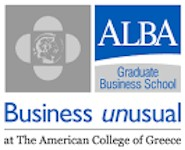 rejoin alba graduate business school logo